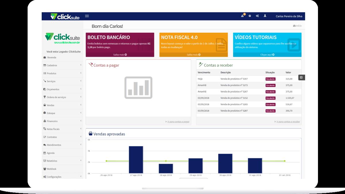 Controle Financeiro - Click Suite